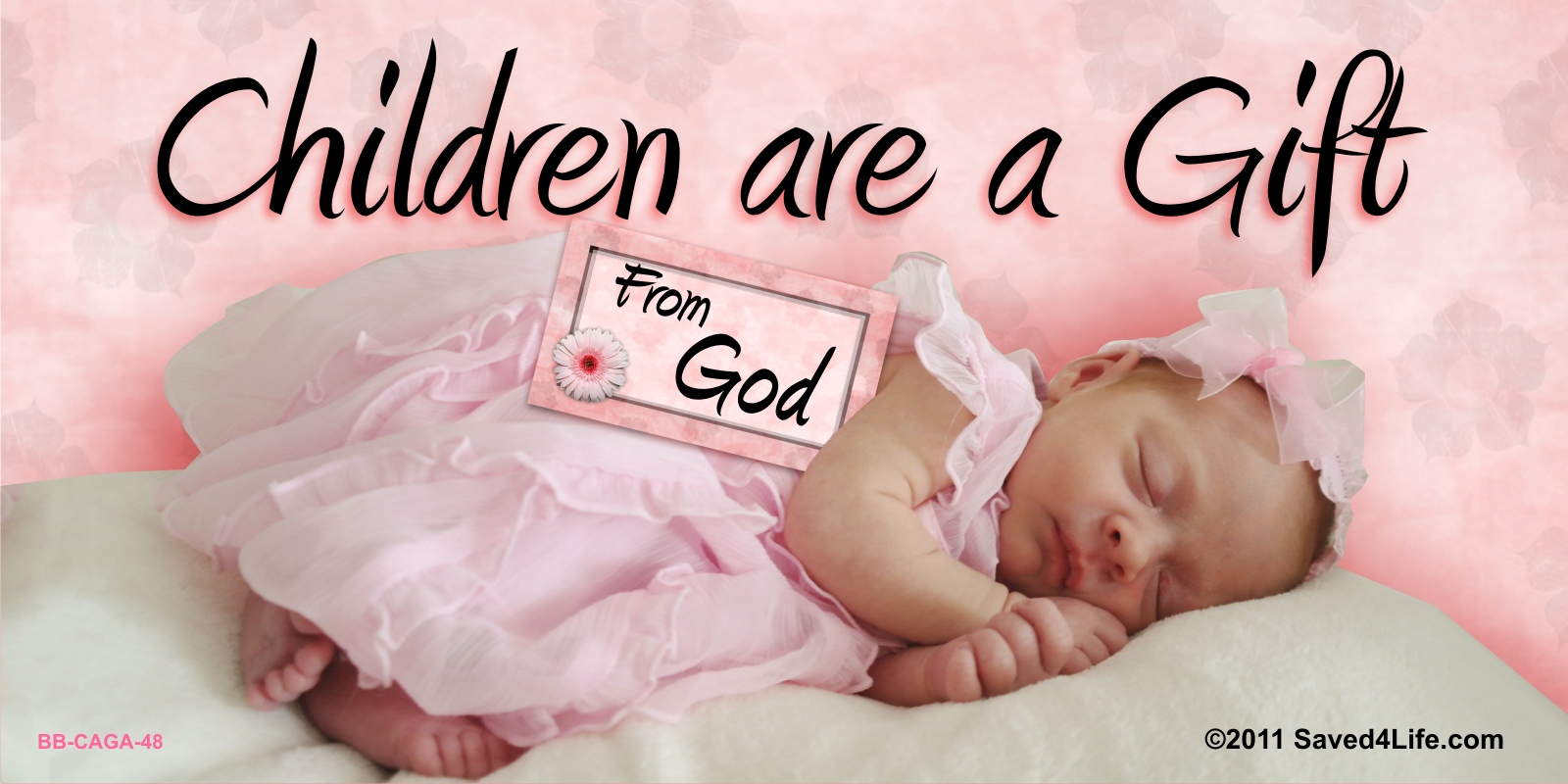 Children are a Gift from God Billboard