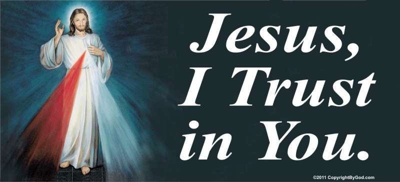 Jesus I Trust in You Billboard (Divine Mercy)