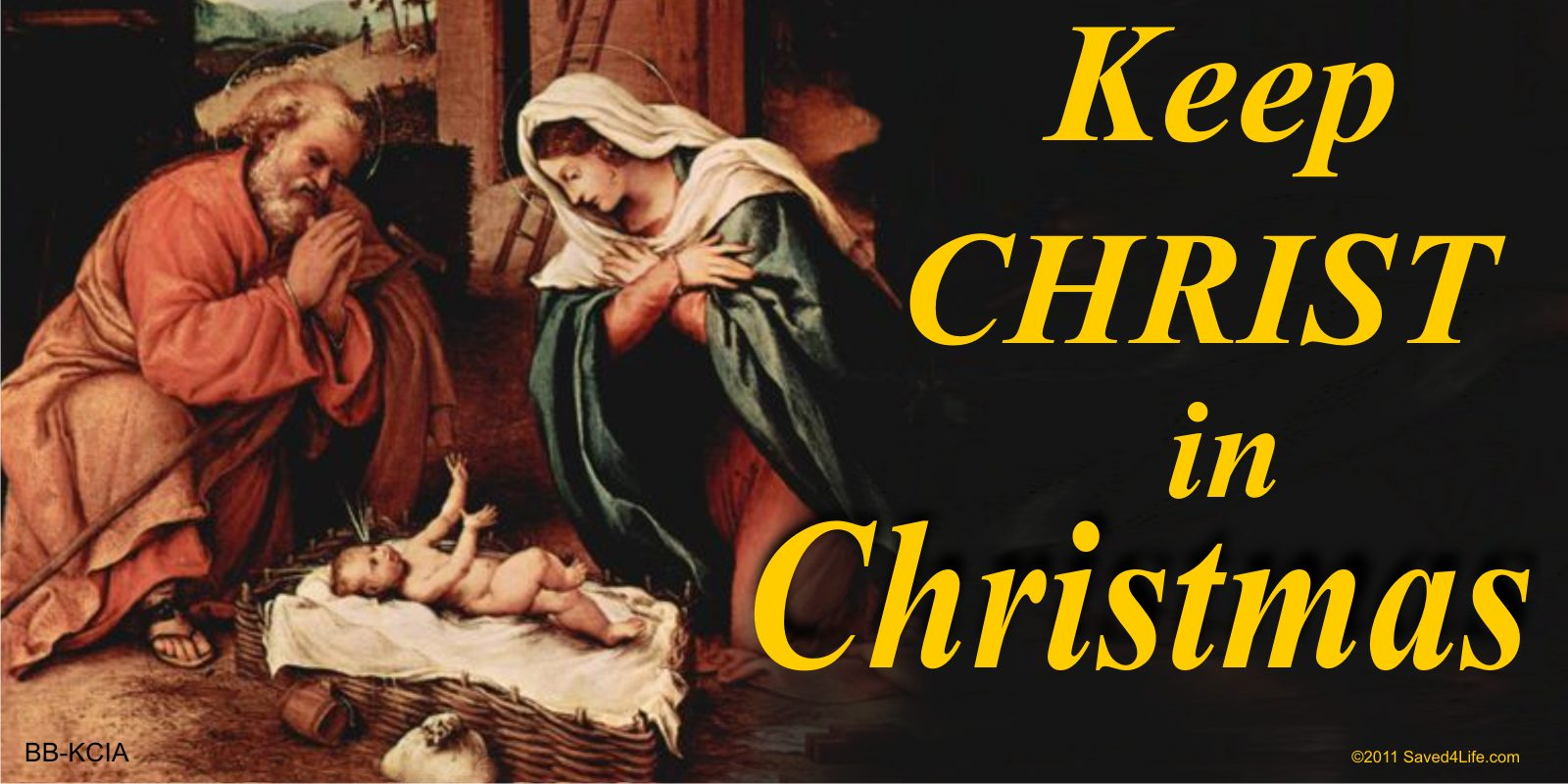 Keep Christ In Christmas Keep Christ In Christmas